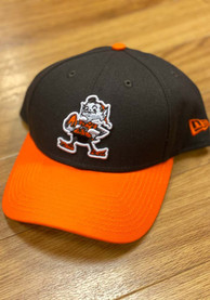 New Era Cleveland Browns Retro Brownie 2T 9FORTY Adjustable Hat - Brown