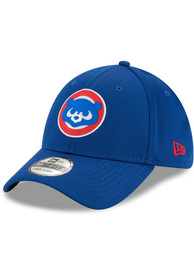 New Era Chicago Cubs Blue 2020 Clubhouse 39THIRTY Flex Hat