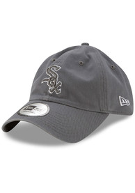 Chicago White Sox New Era Casual Classic Adjustable Hat - Grey