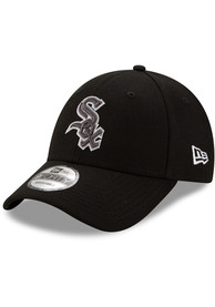 New Era Chicago White Sox Tonal The League 9FORTY Adjustable Hat - Black