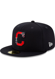 Cleveland Indians New Era Navy Blue 2020 Batting Practice 59FIFTY Fitted Hat