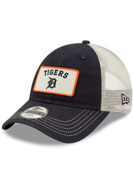 New Era Detroit Tigers Navy Blue JR Trucker 9FORTY Youth Adjustable Hat