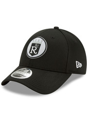 New Era Kansas City Royals 2020 Clubhouse Stretch 9FORTY Adjustable Hat - Black
