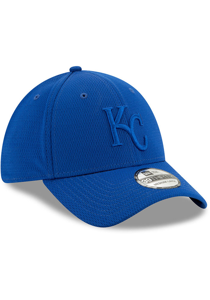New Era Kansas City Royals Mens Blue Perf Tone 39THIRTY Flex Hat - Image 2