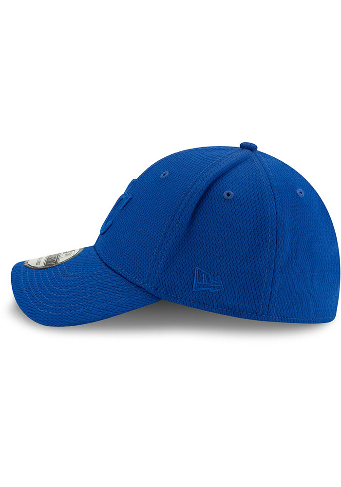 New Era Kansas City Royals Mens Blue Perf Tone 39THIRTY Flex Hat - Image 4