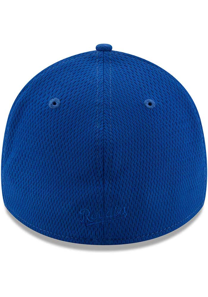 New Era Kansas City Royals Mens Blue Perf Tone 39THIRTY Flex Hat - Image 5