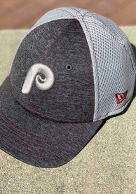 Philadelphia Phillies Toddler New Era JR STH Neo 9FORTY Adjustable - Grey