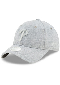 New Era Philadelphia Phillies Womens Grey Sparkle 9TWENTY Adjustable Hat