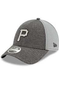 New Era Pittsburgh Pirates STH Neo 9FORTY Adjustable Hat - Grey