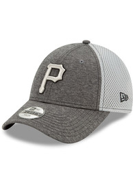 Pittsburgh Pirates Toddler New Era JR STH Neo 9FORTY Adjustable - Grey