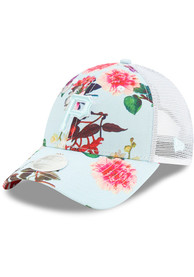 New Era Pittsburgh Pirates Womens Light Blue Floral 9FORTY Adjustable Hat