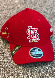 New Era St Louis Cardinals 2020 Spring Training Stretch 9FORTY Adjustable Hat - Red