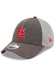 New Era St Louis Cardinals STH Neo 9FORTY Adjustable Hat - Grey