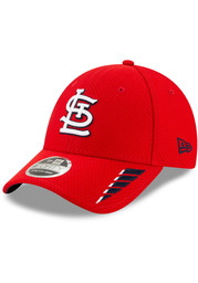 New Era St Louis Cardinals Rush 9FORTY Adjustable Hat - Red