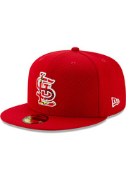 St Louis Cardinals New Era Red 2020 Batting Practice 59FIFTY Fitted Hat