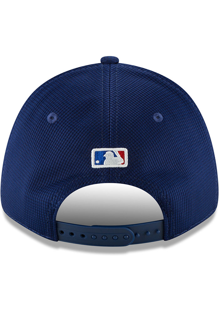New Era Texas Rangers Blue 2020 Clubhouse JR Stretch 9FORTY Youth Adjustable Hat - Image 2