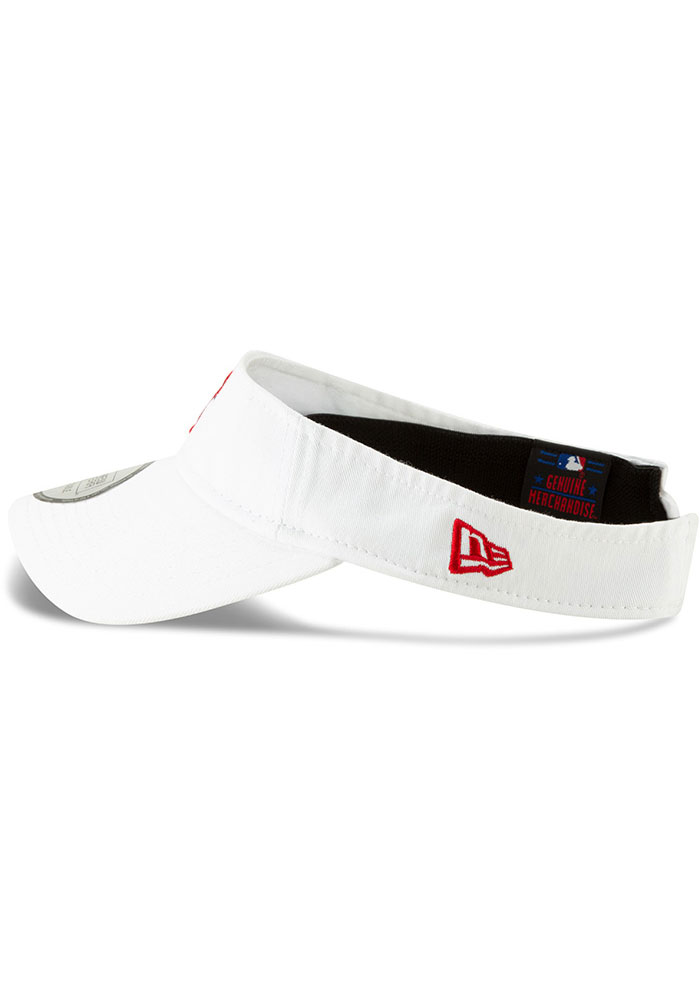 New Era Texas Rangers Mens White Dugout Redux 2 Adjustable Visor - Image 4