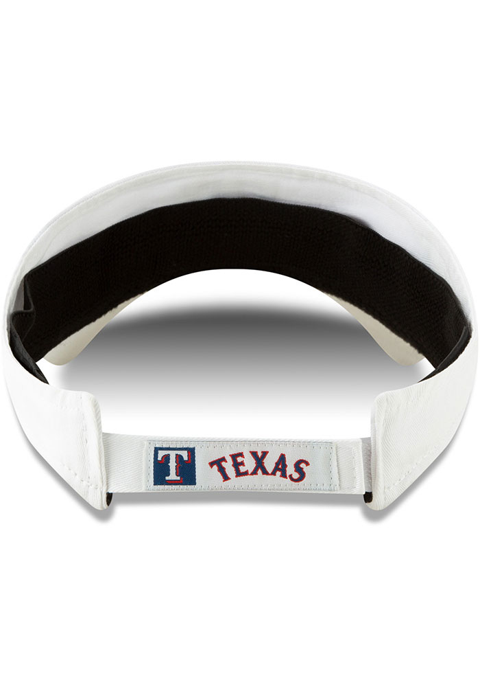 New Era Texas Rangers Mens White Dugout Redux 2 Adjustable Visor - Image 5