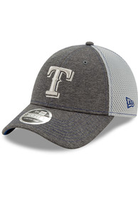 Texas Rangers Toddler New Era JR STH Neo 9FORTY Adjustable - Grey