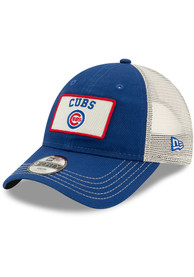 New Era Chicago Cubs Blue JR Trucker 9FORTY Youth Adjustable Hat