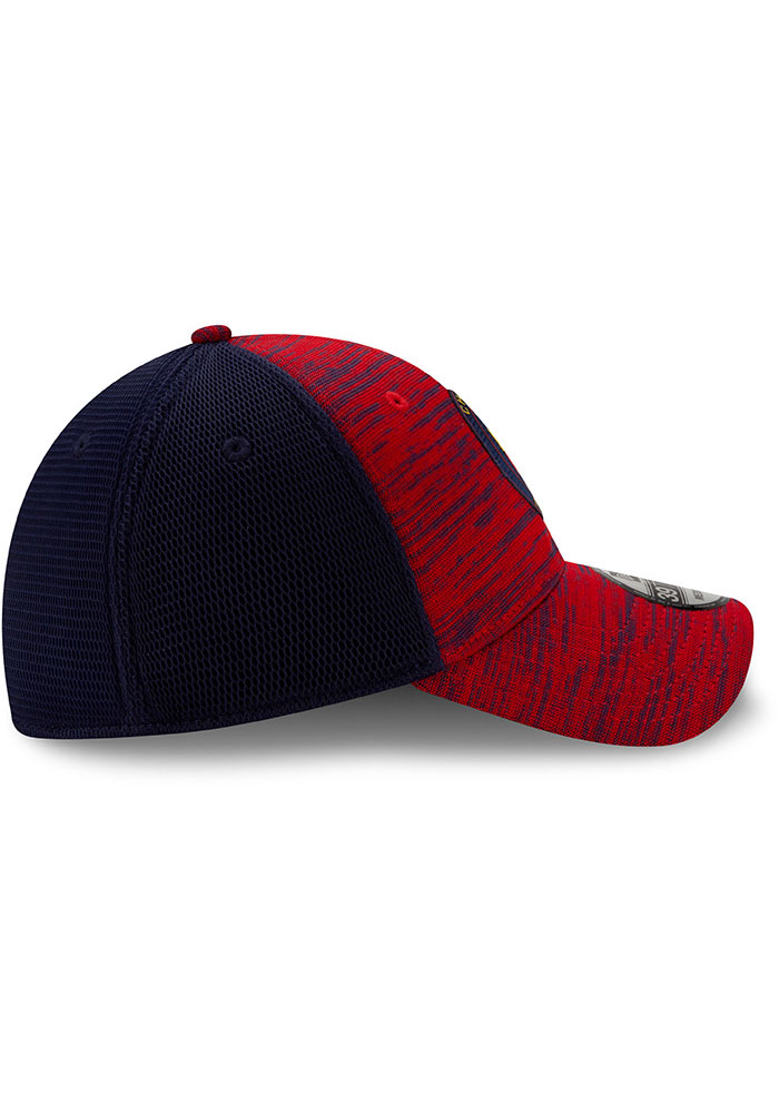 New Era Chicago Fire Mens Red 2020 Official 39THIRTY Flex Hat - Image 6
