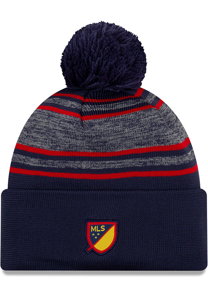 New Era Chicago Fire Navy Blue 2020 Official Cuff Mens Knit Hat - Image 2
