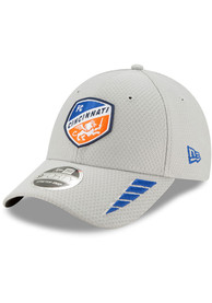 New Era FC Cincinnati Grey JR Rush 9FORTY Youth Adjustable Hat