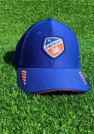 New Era FC Cincinnati Blue JR Rush 39THIRTY Youth Flex Hat