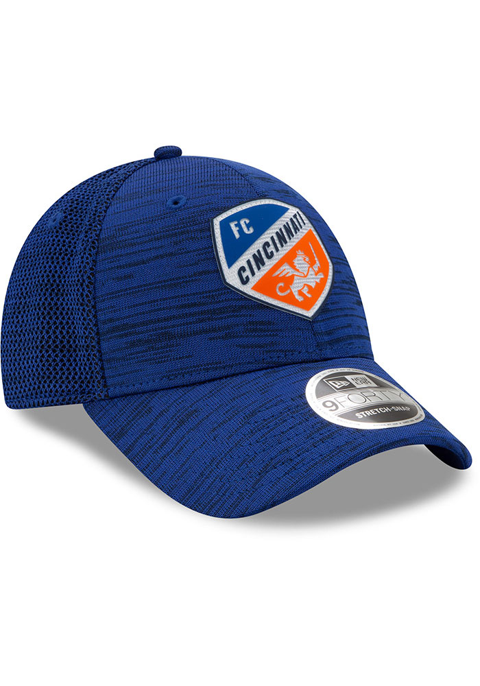 New Era FC Cincinnati 2020 Official Stretch 9FORTY Adjustable Hat - Blue - Image 2