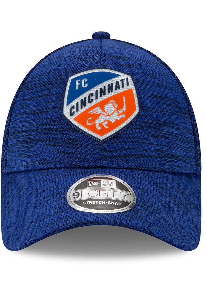 New Era FC Cincinnati 2020 Official Stretch 9FORTY Adjustable Hat - Blue - Image 3