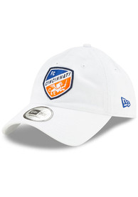 New Era FC Cincinnati Casual Classic Adjustable Hat - White
