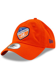 New Era FC Cincinnati Casual Classic Adjustable Hat - Orange