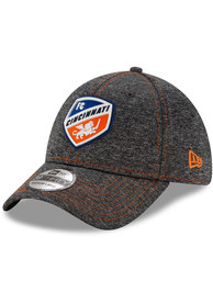 New Era FC Cincinnati Grey STH Club 39THIRTY Flex Hat