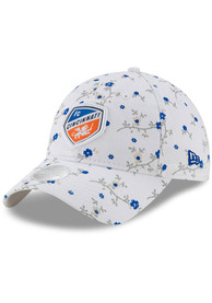 New Era FC Cincinnati Womens White Blossom 9TWENTY Adjustable Hat