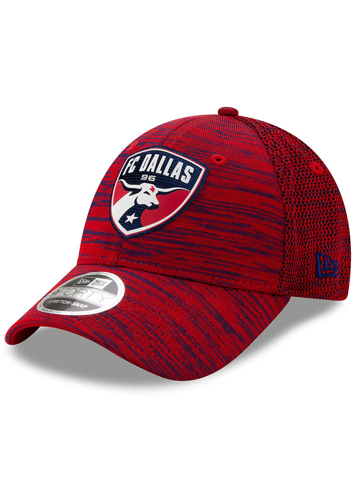 New Era FC Dallas 2020 Official Stretch 9FORTY Adjustable Hat - Red