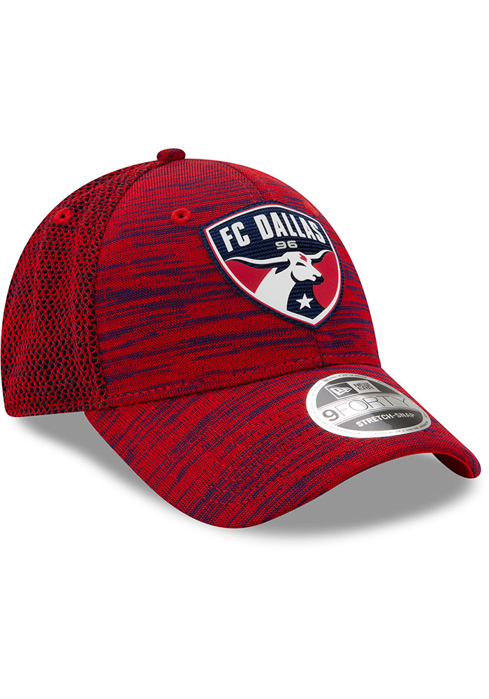 New Era FC Dallas 2020 Official Stretch 9FORTY Adjustable Hat - Red - Image 2