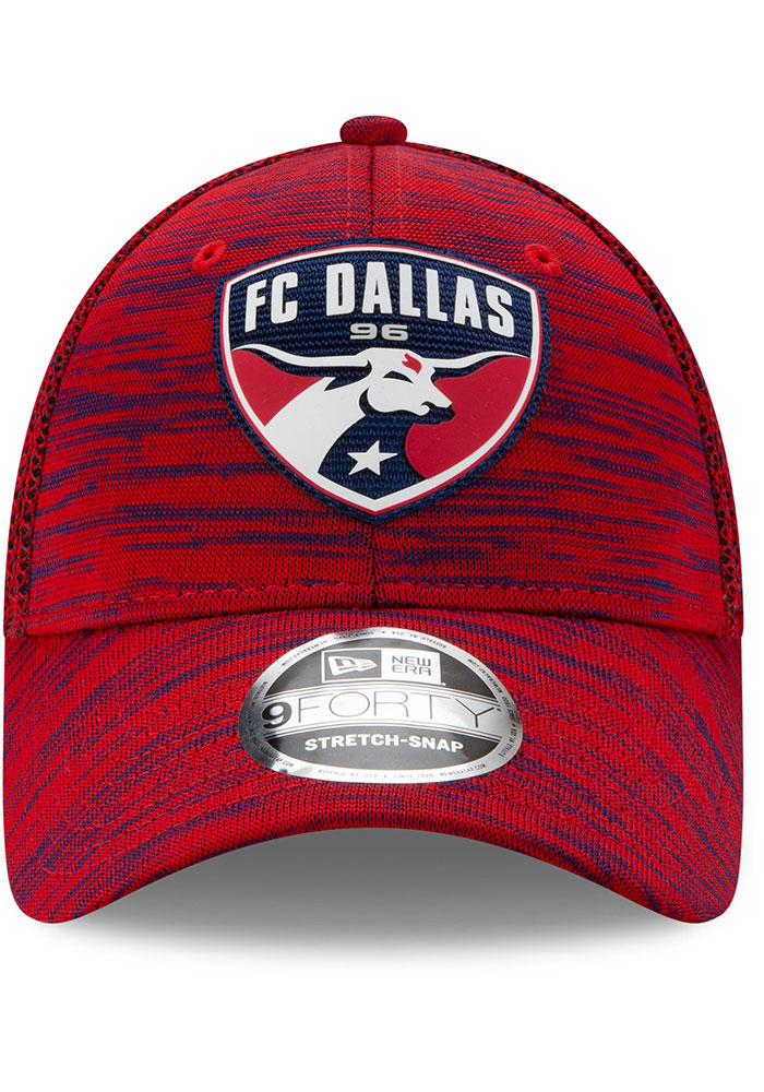 New Era FC Dallas 2020 Official Stretch 9FORTY Adjustable Hat - Red - Image 3