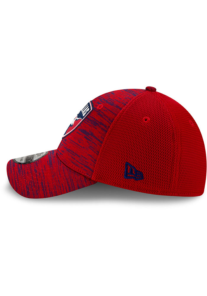 New Era FC Dallas Mens Red 2020 Official 39THIRTY Flex Hat - Image 4