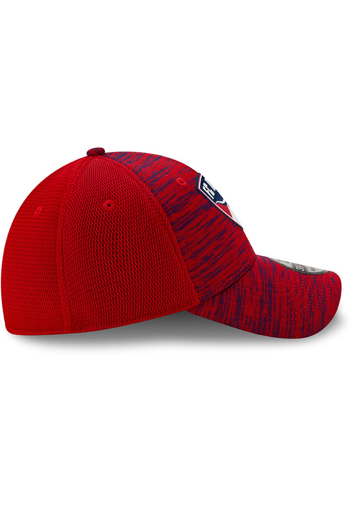 New Era FC Dallas Mens Red 2020 Official 39THIRTY Flex Hat - Image 6