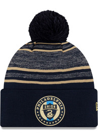 New Era Philadelphia Union Navy Blue 2020 Official Cuff Knit Hat
