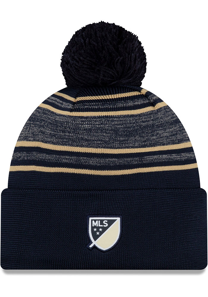 New Era Philadelphia Union Navy Blue 2020 Official Cuff Mens Knit Hat - Image 2