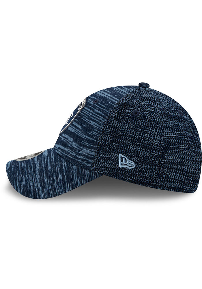 New Era Sporting Kansas City 2020 Official Stretch 9FORTY Adjustable Hat - Navy Blue - Image 4