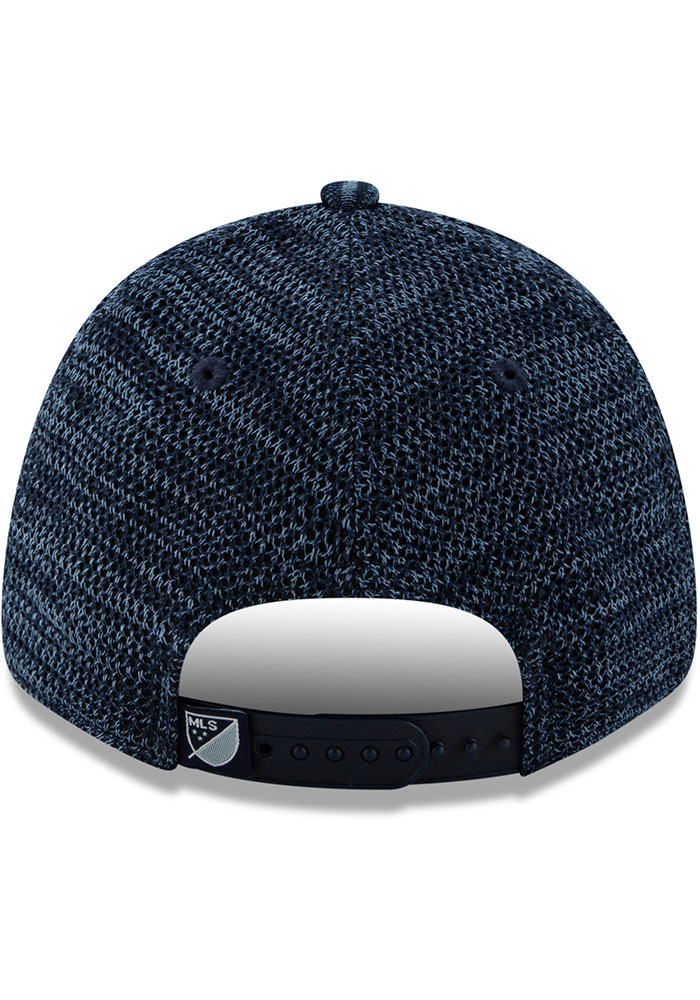 New Era Sporting Kansas City 2020 Official Stretch 9FORTY Adjustable Hat - Navy Blue - Image 5