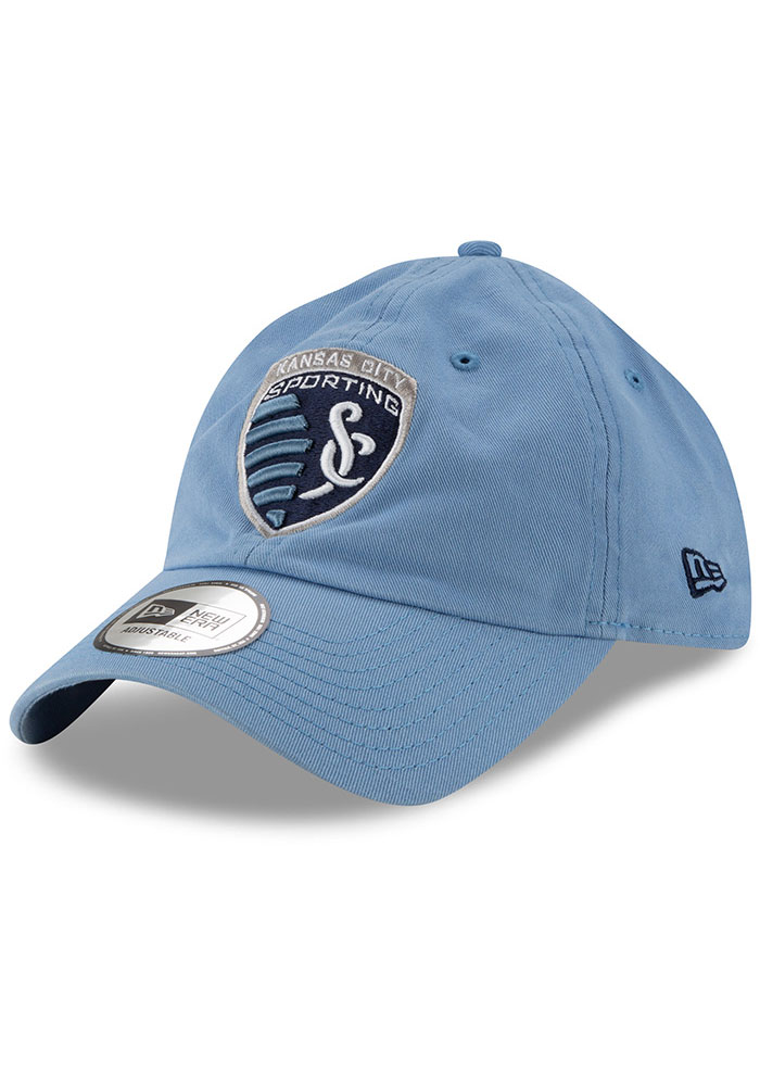 New Era Sporting Kansas City Casual Classic Adjustable Hat - Light Blue