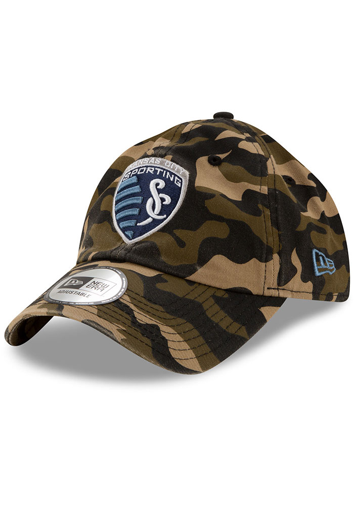 New Era Sporting Kansas City Casual Classic Adjustable Hat - Green