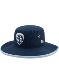 New Era Sporting Kansas City Navy Blue Basic Bucket Hat