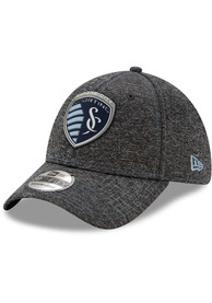 New Era Sporting Kansas City Grey STH Club 39THIRTY Flex Hat