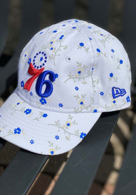 Philadelphia 76ers Toddler New Era JR Blossom 9TWENTY Adjustable - White