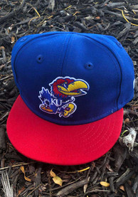New Era Kansas Jayhawks Baby My First 9FIFTY Adjustable Hat - Blue