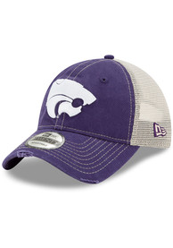 New Era K-State Wildcats Worn 9TWENTY Adjustable Hat - Purple